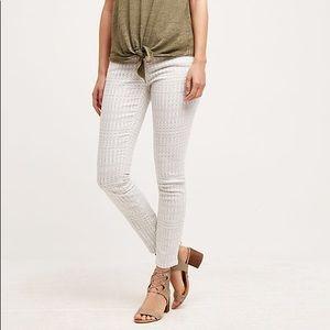 Anthropologie Pilcro Stet Mid-Rise Skinny Jean 28